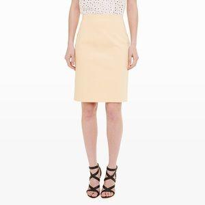 Club Monaco Peach Franchie Pencil Skirt Size 0 NWT